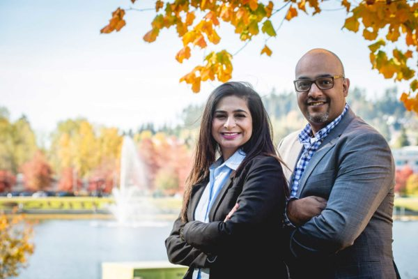 Ism and Shelina Lila of Ashdin Law, Tri-Cities law firm.